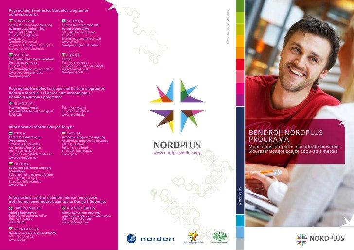 Bendroji Nordplus programa