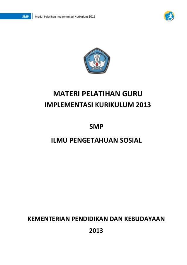 Materi pelatihan kurikulum 2013