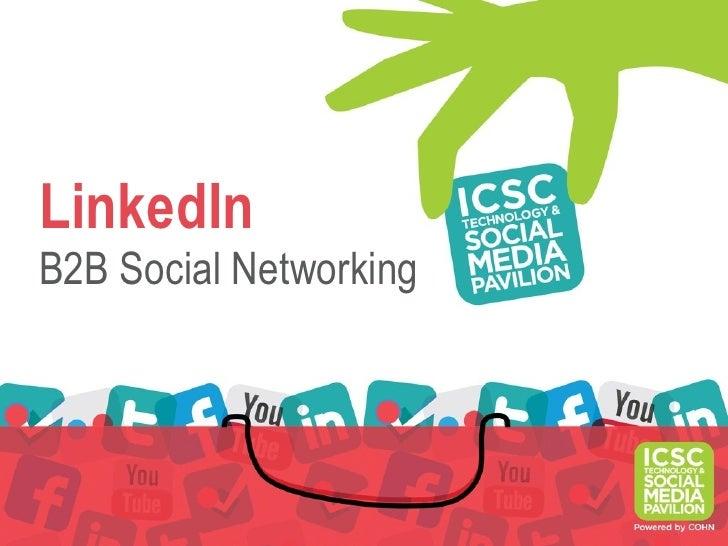 LinkedInB2B Social Networking