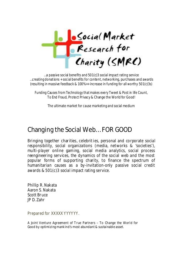 …a passive social benefits and 501(c)3 social impact rating service …creating donations + social benefits for content, net...