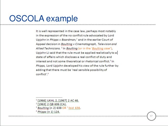 oscola referencing research papers