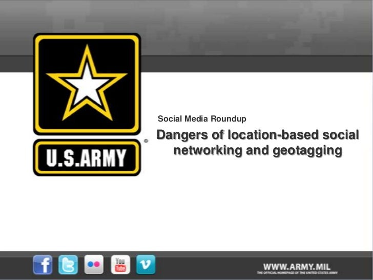 Social Media Roundup - Dangers of location-based social networking and geotagging