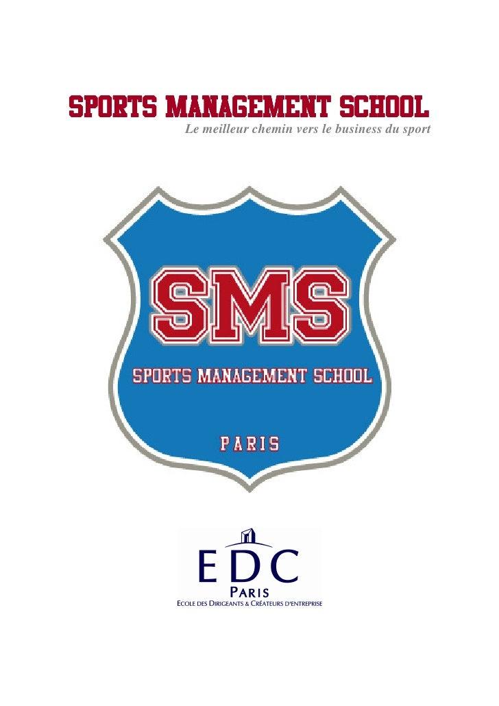 Sport Business: La Sports Management School ouvre ses portes