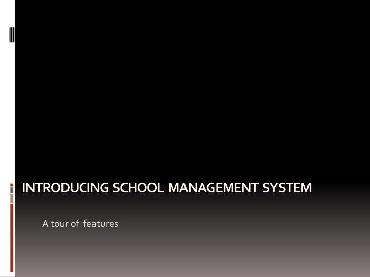 School Manament System