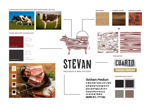 STEVAN MEATSHOP & BBQ FACTORY SPECIALIZE IN MEAT, ESP. COW  OAK WOOD  HICKORY WOOD  MESQUITE WOOD  STEVAN MEATSHOP COLOR P...
