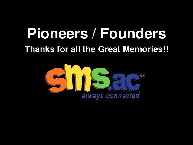 Sms.ac Founders and Pioneers