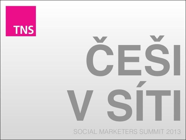 Češi v síti 2009 - 2013 ( Social Marketers Summit )