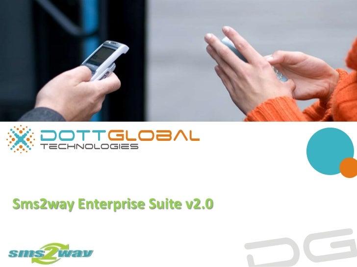 Sms2way Enterprise Suite v2.0<br />