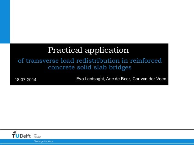 Practical Application of Transverse Load Redistribution in Reinforced Concrete Solid Slab Bridges