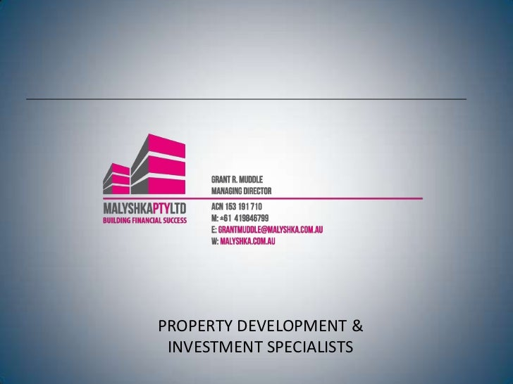 Property Development - the BEST investment for your SMSF