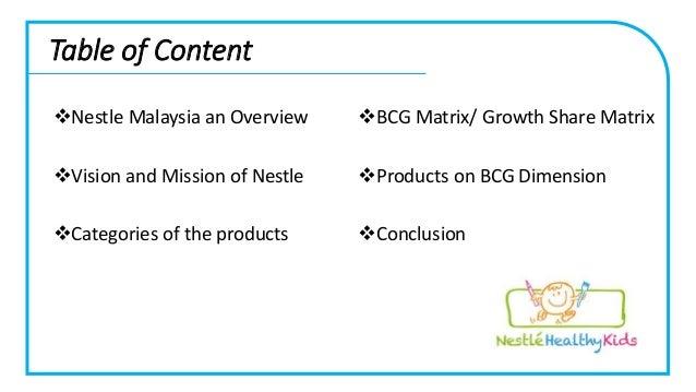 nestle bcg Gerencia estratégica - matriz bcg de nestlé aplicada al área de producción.