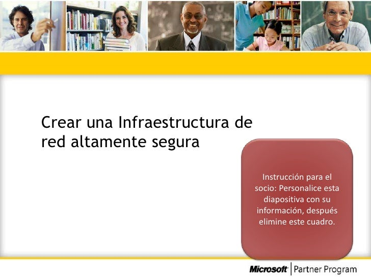 Crear una Infraestructura dered altamente segura                                  Instrucción para el                     ...