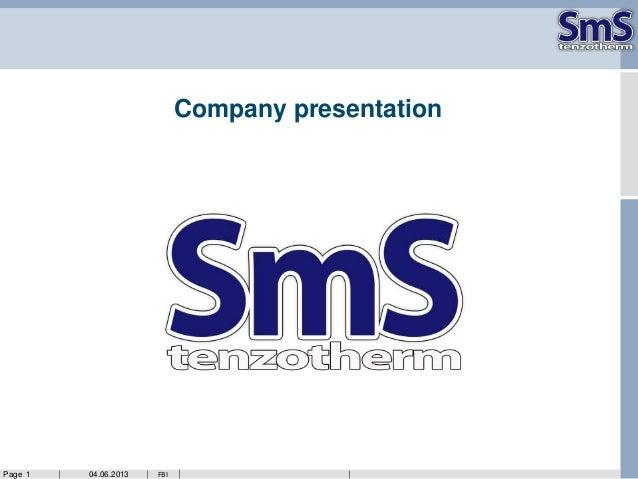 04.06.2013Page 1 FBICompany presentation