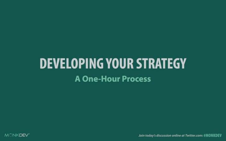 A One-Hour Social Media Strategy