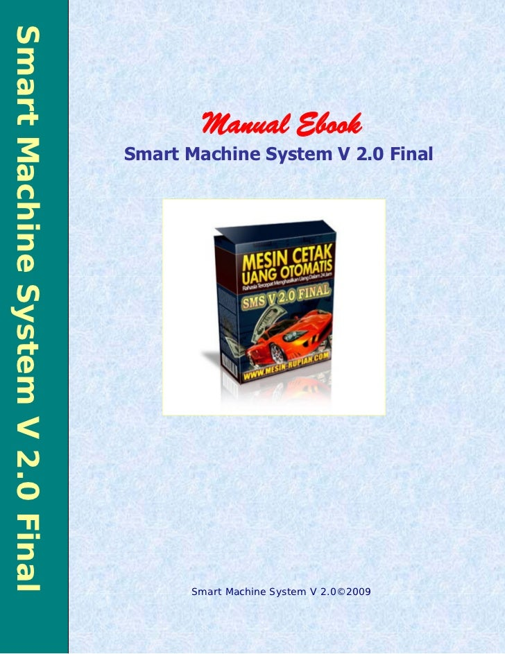 Smart Machine System V 2.0 Final                                                                MANUAL EBOOK SMS V 2.0   1...
