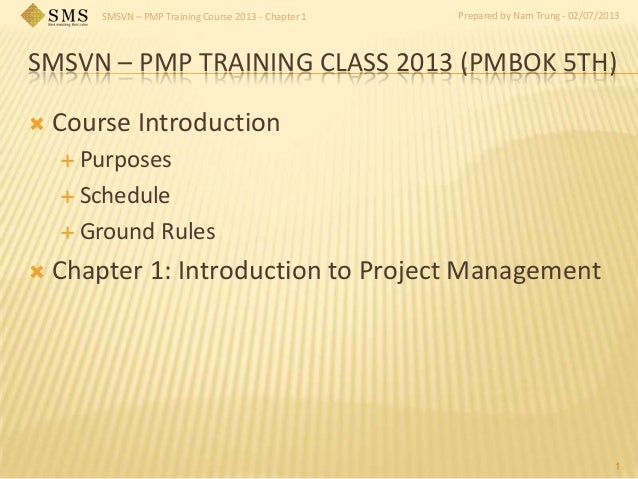 Smsvn pmp training_slides_chapter_1