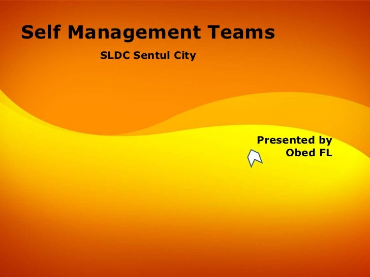 Self Management Team