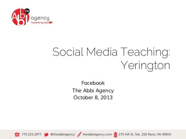 SM Teaching Yerington #1