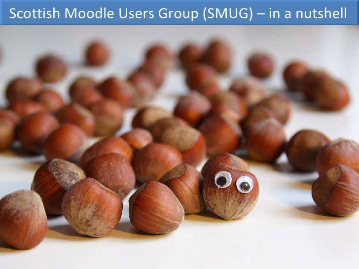 Scottish Moodle Users Group (SMUG) – in a nutshell