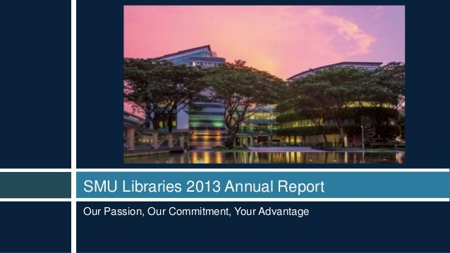 2013 SMU Libraries Annual Report