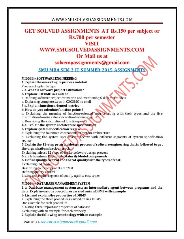 sem 3 mis summer 2014 assignments Placement report summer internships  semester – iv optional subject list  2016  mba syllabus 2016 pattern  301-sm, download, 401-ms, download   assignments  mba-i sem-ii, mba-ii sem -iii, mba-ii sem -iv  cs-iii, download.