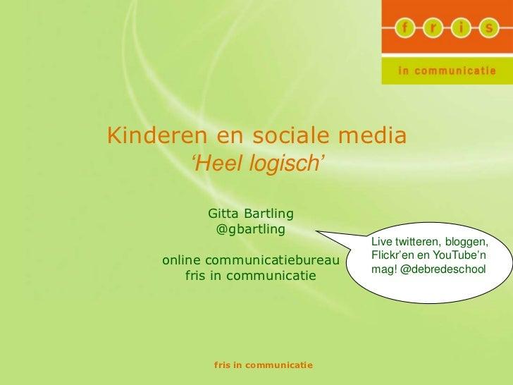 Social media & kids: ouders doe mee!