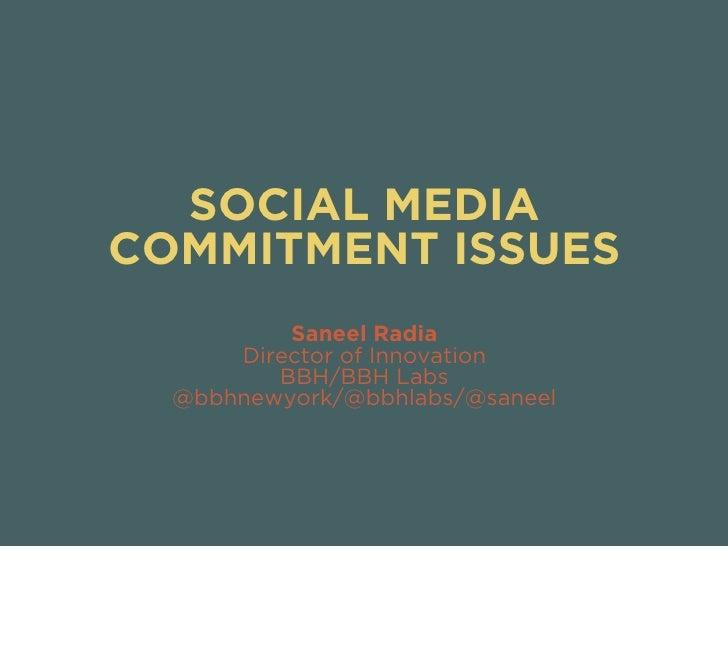 Social Media Flings