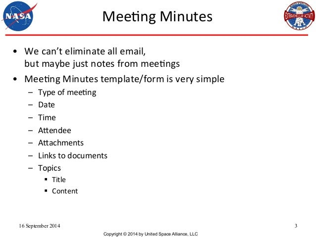 Meeting Minutes & Group Communication, Daren Welsh, SMWCon Fall 2014