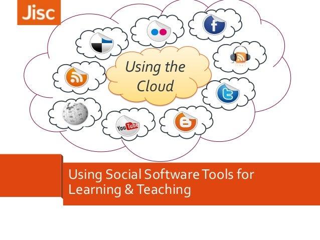 Using Social Media to support learning - webinar Nov 2013