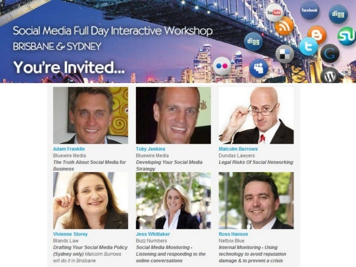 Truth About Social Media -Full Day Interactive Workshop