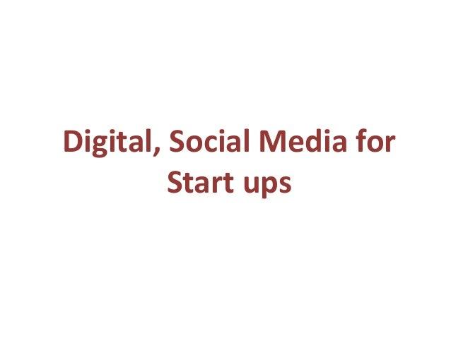Digital Marketing Training Bangalore. PPT - Digital Marketing from Start up's in SMW Bangalore