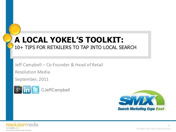A Local Yokel's Toolkit: 10+ Tips for Retailers to Tap into Local Search