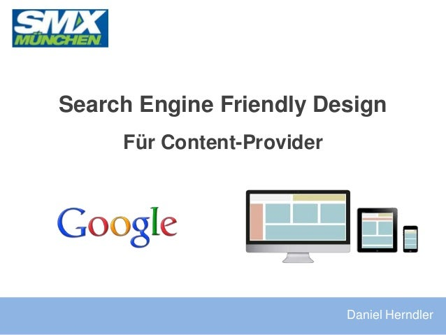Search Engine Friendly Design Für Content-Provider Daniel Herndler