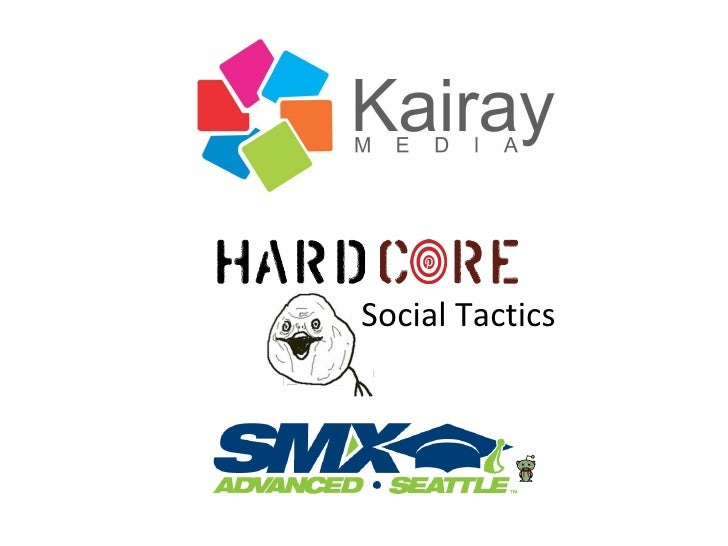Hardcore Social Tactics - SMX Advanced 2012