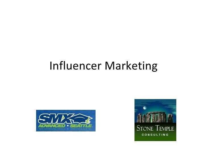 Influencer Marketing: Using Relationships to Build Killer Links