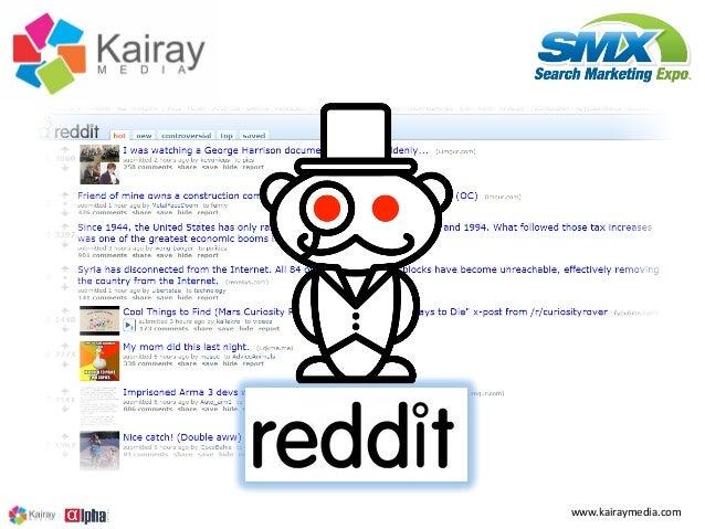 Succeeding with Reddit