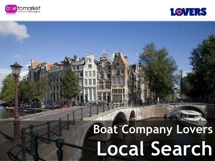 Smx Stockholm Local Search Boat Company Lovers - Martijn Beijk & Jaap Dijkstra