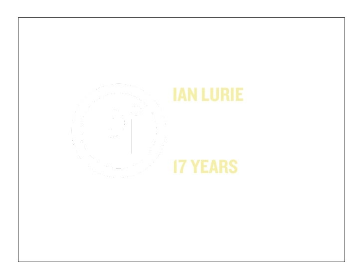 IAN LURIEPORTENT, INC@PORTENTINTPORTENT.COM17 YEARS