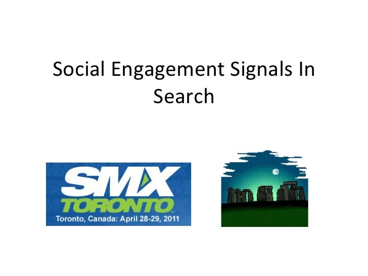 Social Engagement Signals In Search