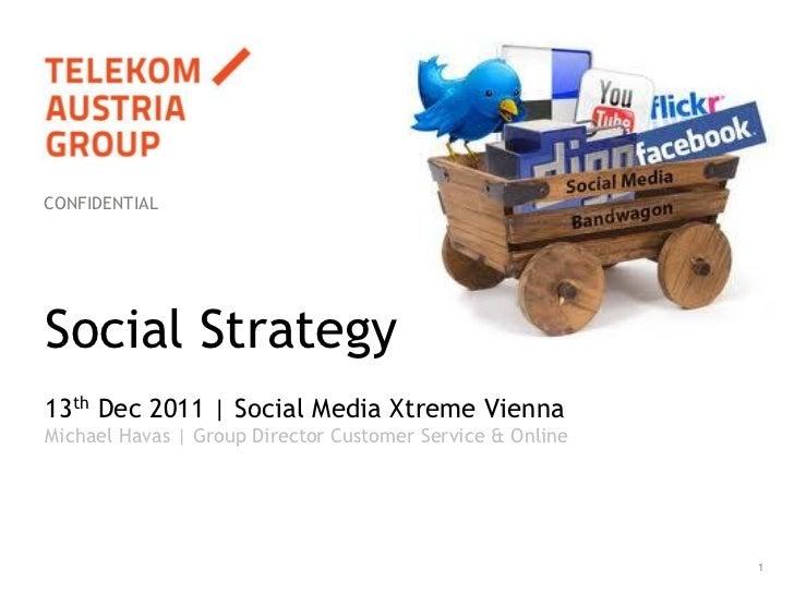 Social Strategy - SMX 2011 Vienna - Michael Havas