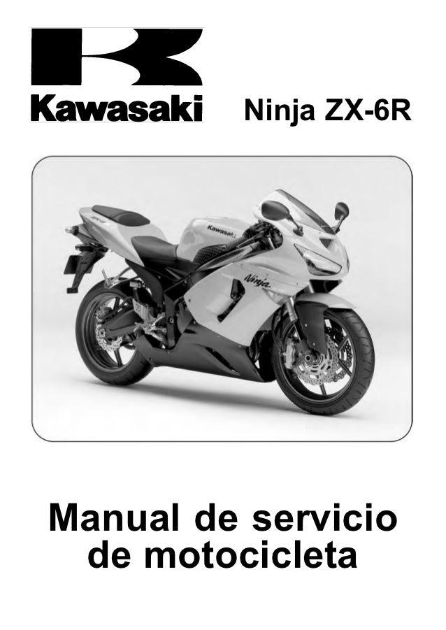 Ninja ZX-6RManual de servicio de motocicleta