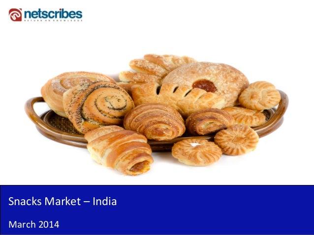 Snacks Market – India March 2014