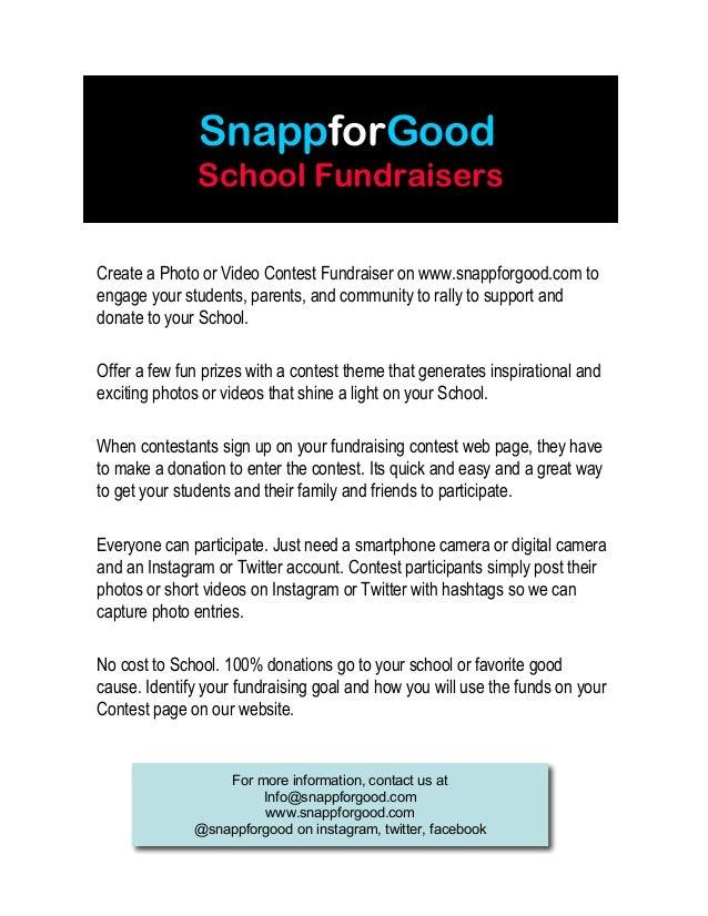 SnappforGood for Schools