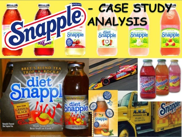 • 1972 - Snapple was founded by Leonard Marsh, Hyman Golden, and Arnold Greenberg in New York. • 1990 – Snapple emerged as...