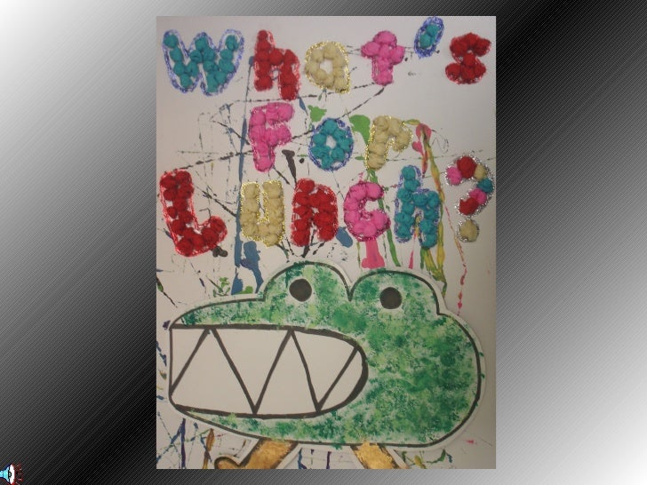 Creative Arts for Young Children- Snappy