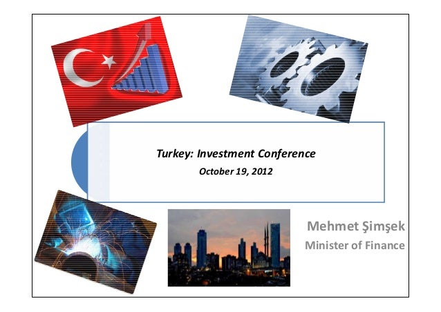 Turkey: Investment Conference