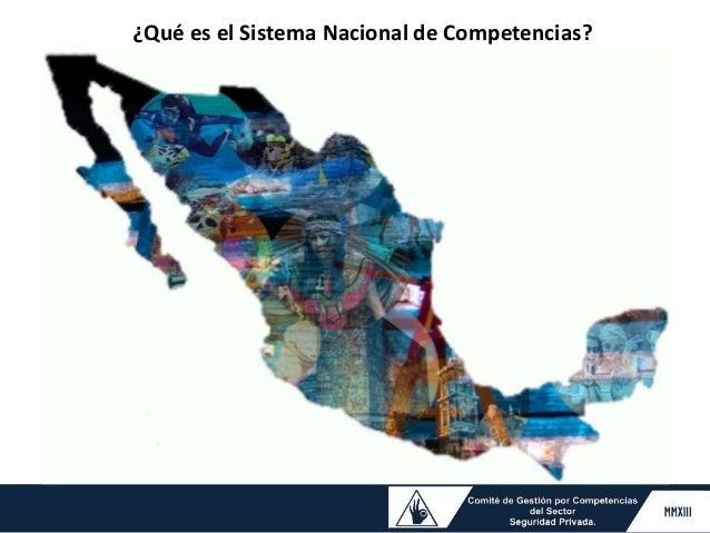 ¿Qué es el Sistema Nacional de Competencias?