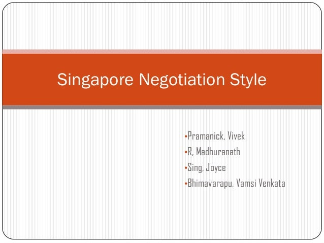 chinese negotiation style Negotiation: the chinese style tony fang school of business, stockholm university, stockholm, sweden abstract purpose – to examine the nature of chinese business.