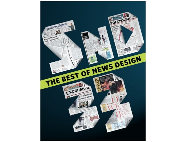 SND 33 Best of News Design cover competition