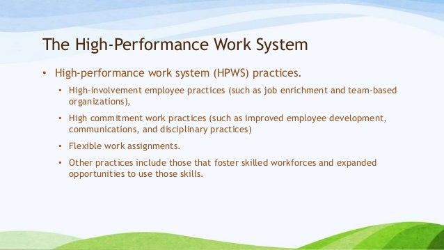 high commitment work systems in chinese Putting strategic human resource management in context: a contextualized model of high commitment work systems and its implications in china more_185 153174.